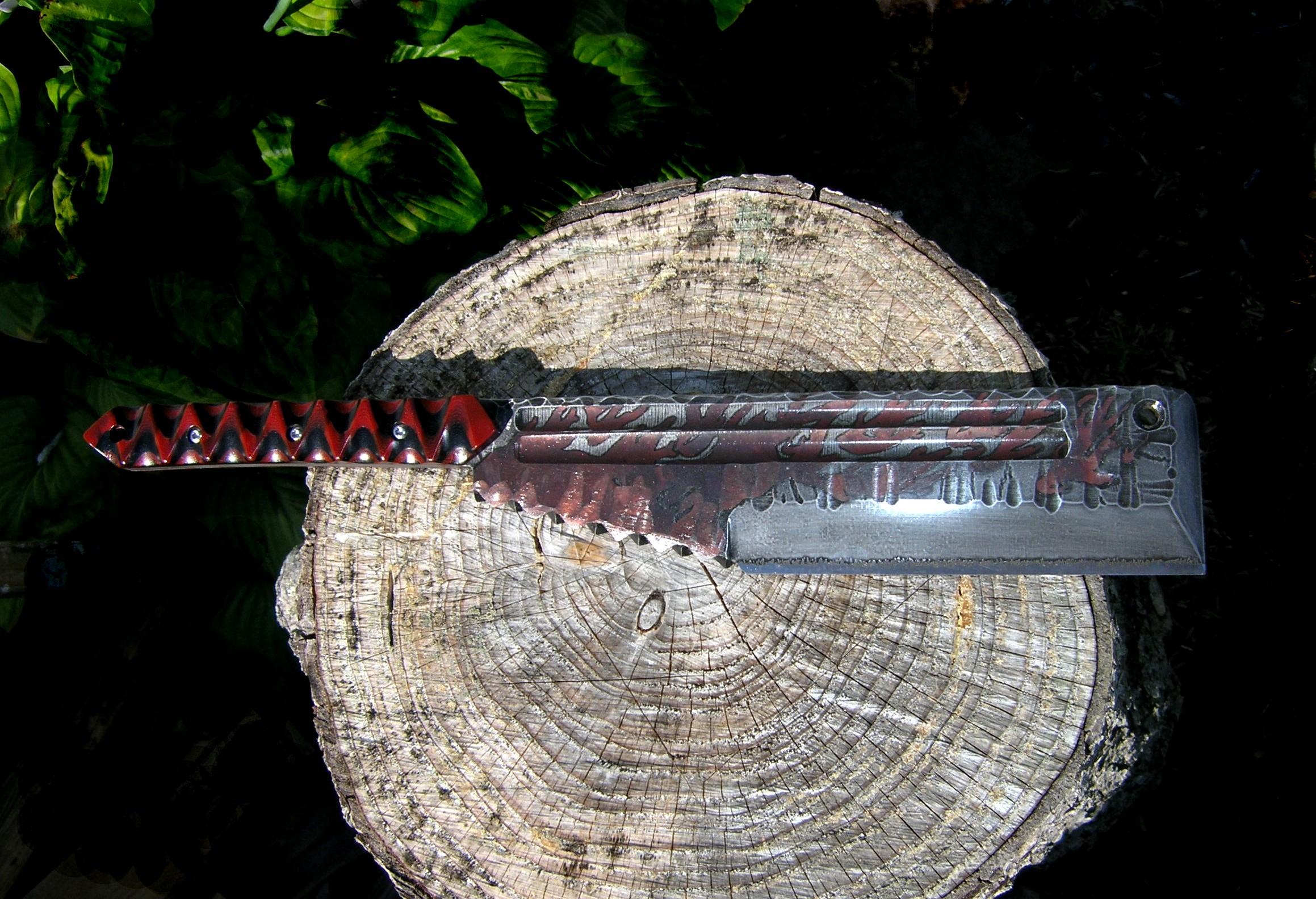 Digs Fossils-n-Knives Custom Knives & Swords DFnK